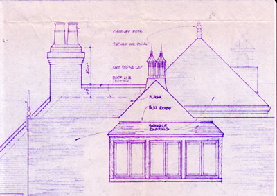Blueprint for Custom Finial & Vent