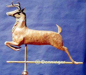 Deer Stag Buck Weather Vane