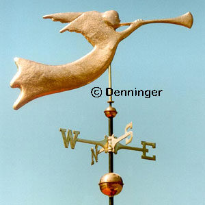 Copper Angel Gabriel Weathervane