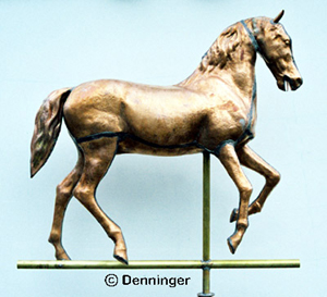 Prancing Horse Weather Vane