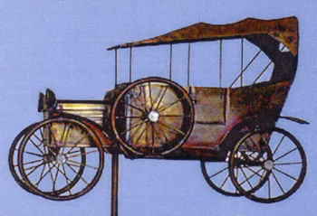 Model T Ford Weather Vane