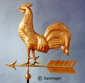 Rooster Cockerel Weathervane