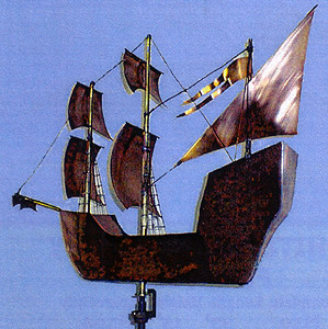 Mayflower Weather Vane