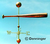 Go to Denninger Baseball Fan Weather Vanes Page