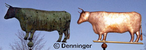 Go to Denninger Historic Replication Weathervanes Page