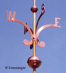 denninger directionals nsew cardinals for weathervanes With weathervane directional letters