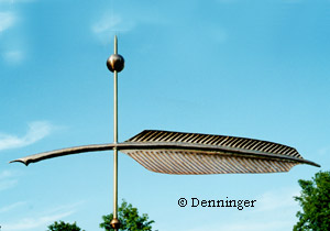 Denninger Quill Weather Vane