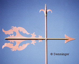 Denninger Roman Scroll Weathervane